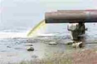 sewage flow